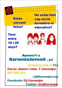 Difusió cartell 1 Garantia juvenil