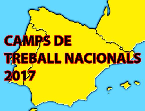 CAMPS TREBALL 2017
