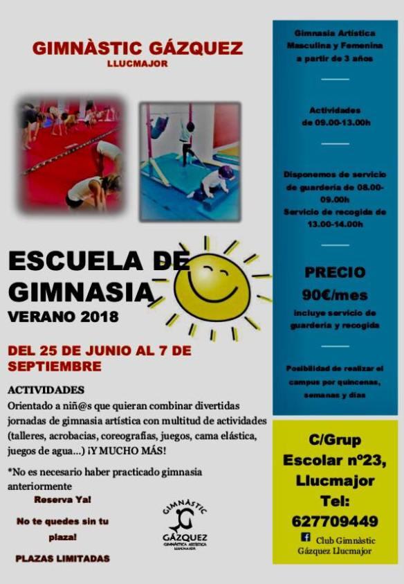 Escola de gimnàstica Gázquez