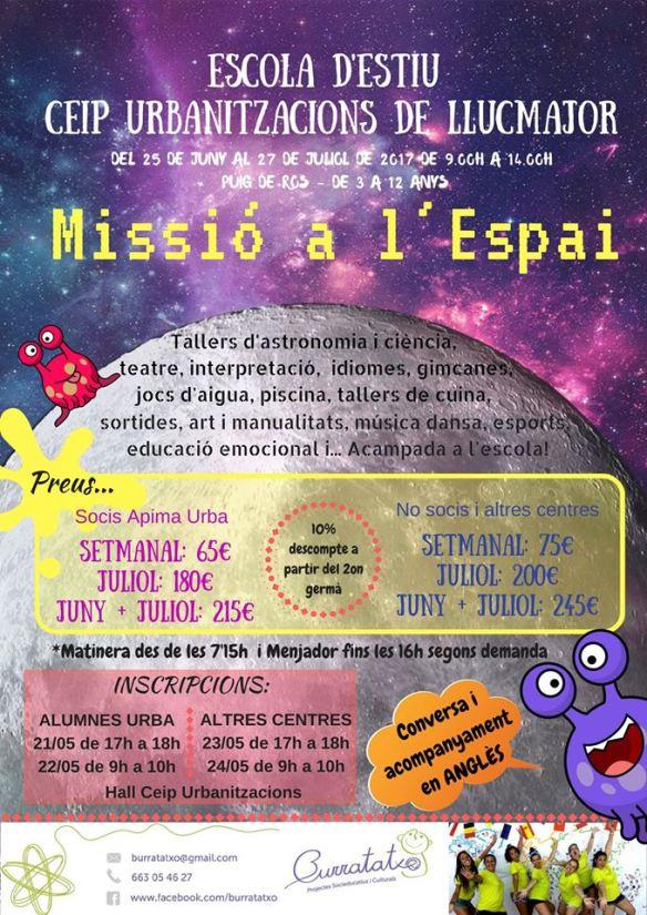 Escola d'Estiu CEIP Urbanitzacions Puig de Ros