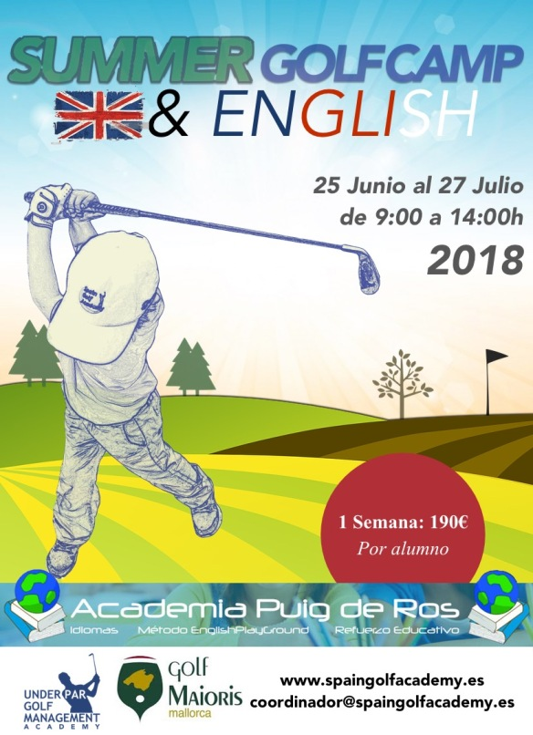 summer golf puig de ros