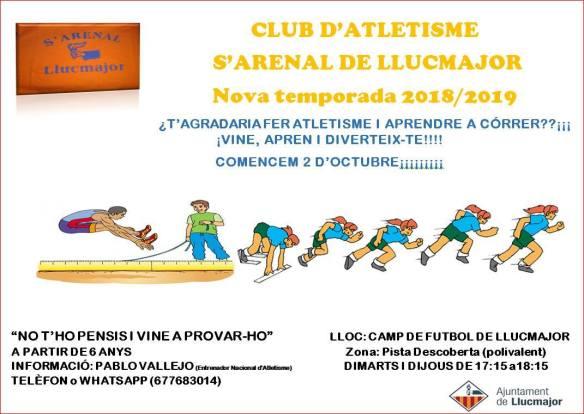 Club Atletisme s'Arenal de Llucmajor