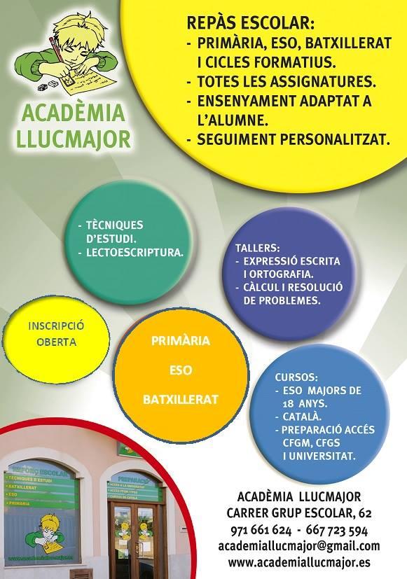 Reforç escola Academia Llucmajor